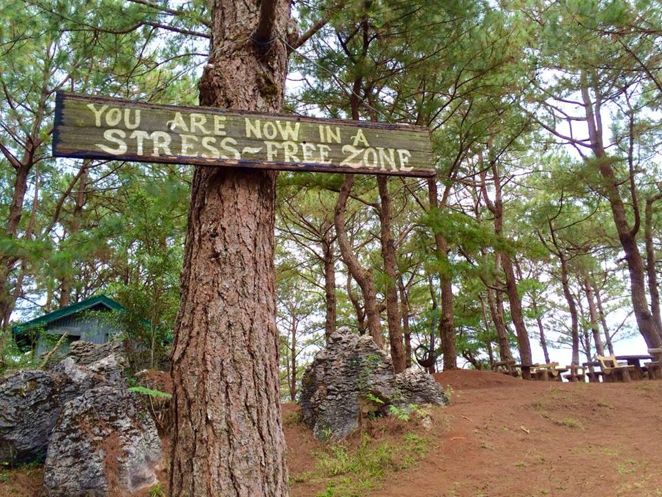 Welcome Sign in Mt. Kalugong