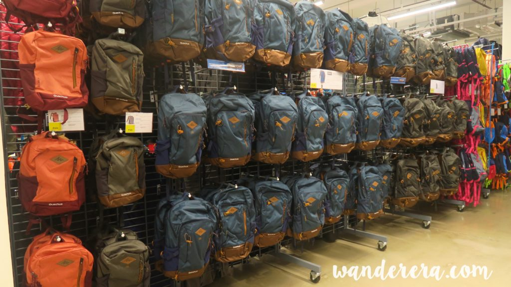 Decathlon Bags