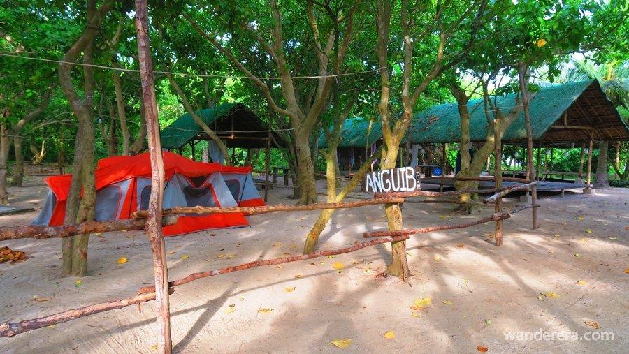 Anguib Beach Camping