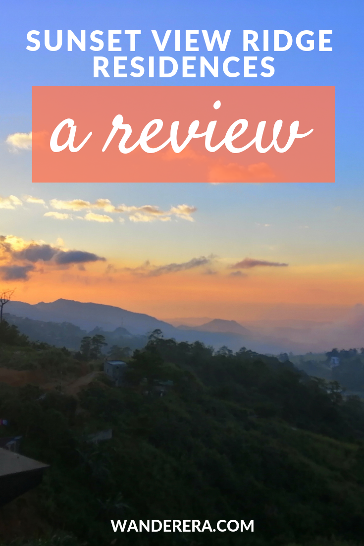 Baguio City: Sunset View Ridge Residences Review