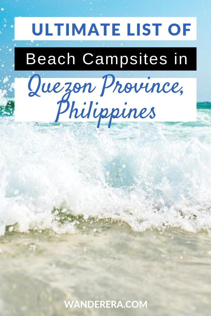 quezon beaches