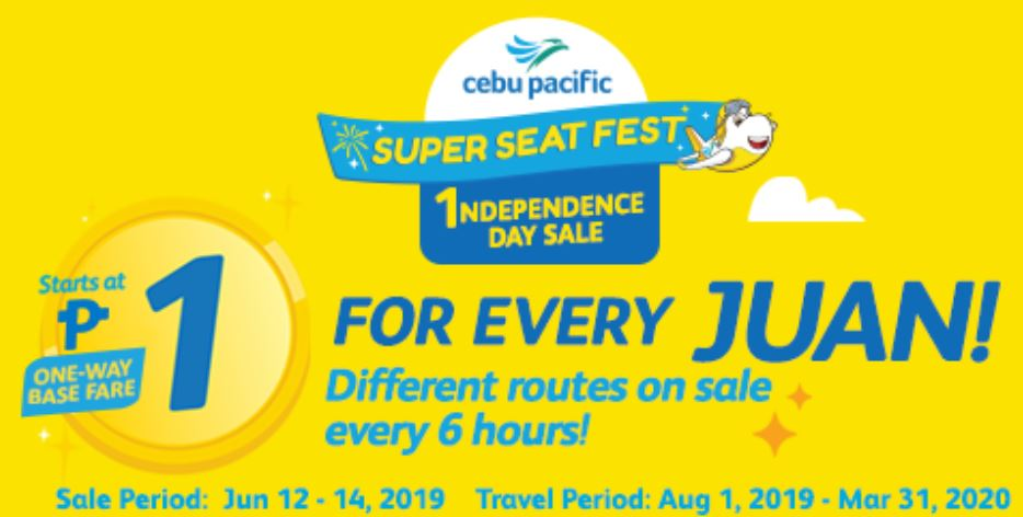 Cebu Pacific Piso Fare 2019 Guide: HOW TO BOOK