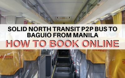 Solid North Transit P2P Bus To Baguio From Manila: How To Book Online