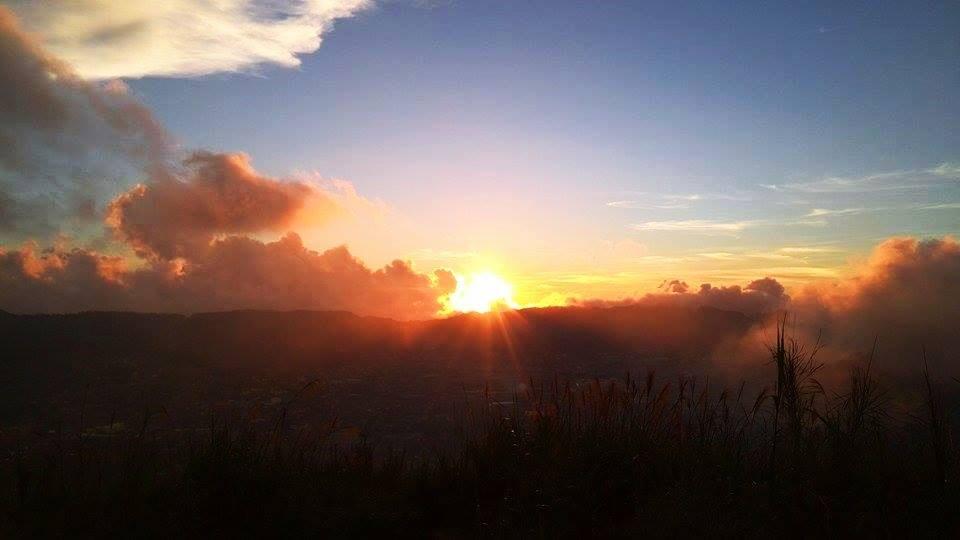mt yangbew sunset