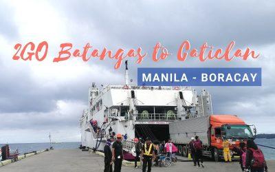 2GO Batangas to Caticlan Ferry Ride (Manila to Boracay)