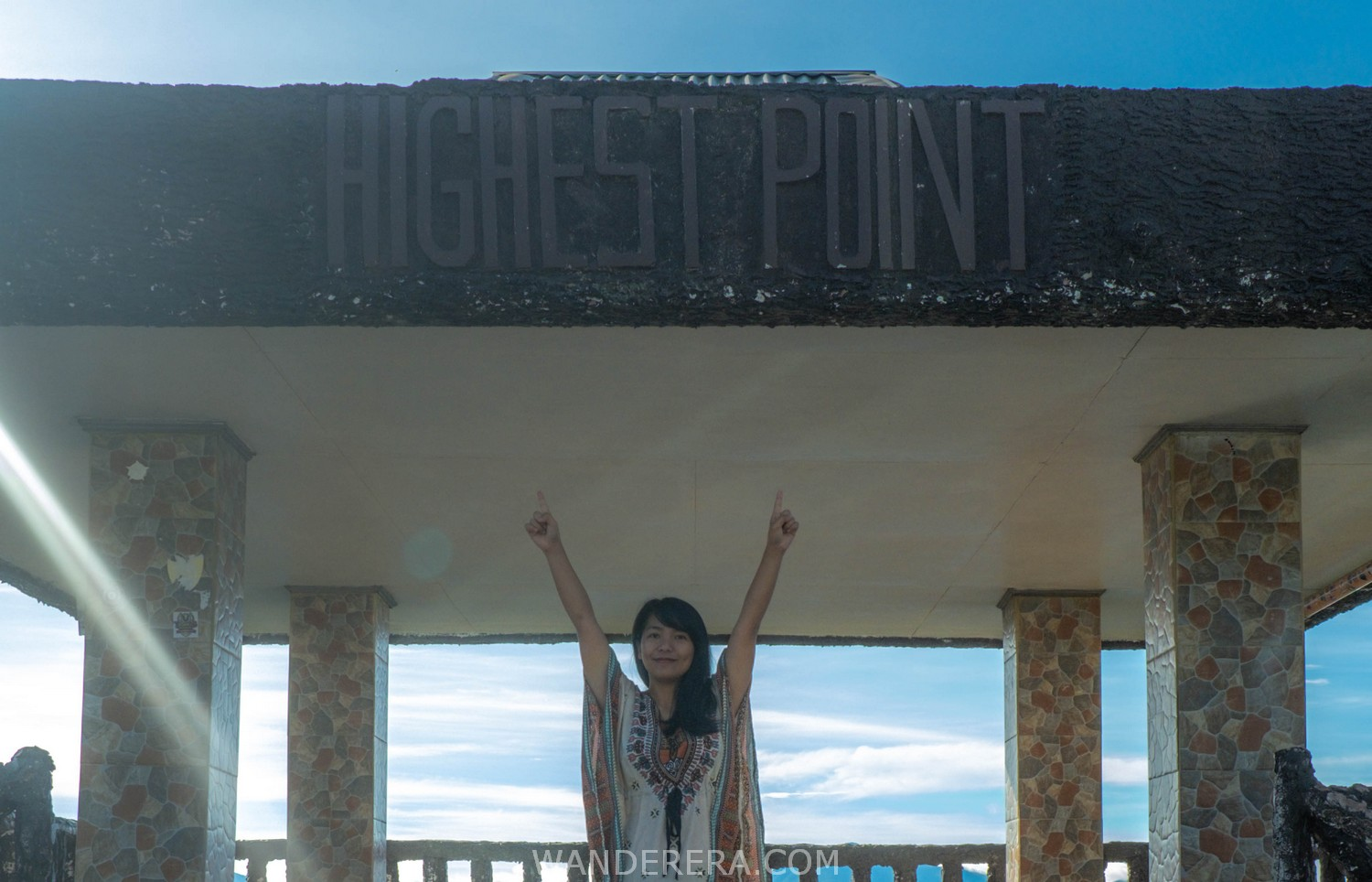 highest point